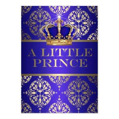 A Little Prince Baby Shower Invitation