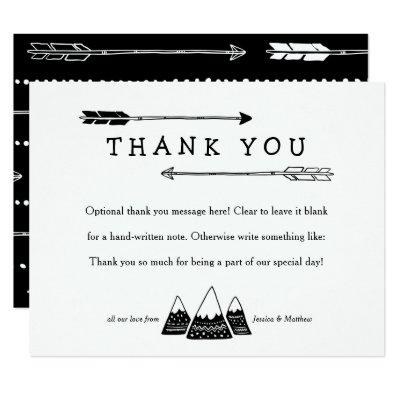 Adventure Themed Thank You Invitations for Baby Shower