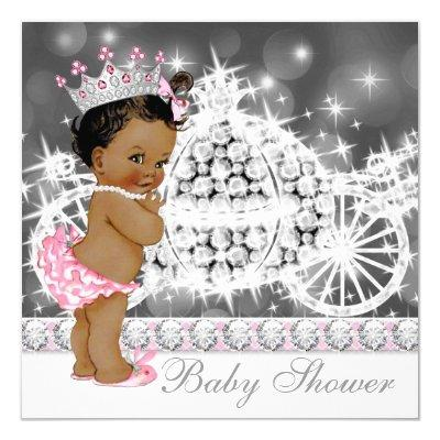 African American Ethnic Princess Girl