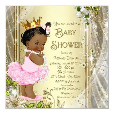 African American Princess Pink Tutu