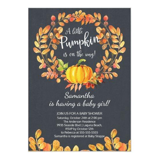 Autumn Little Pumpkin