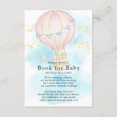 Baby Animals Balloon Ride Book for Baby Card