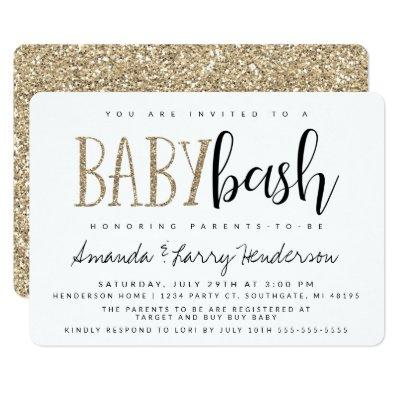 Baby Bash, Couples Baby Shower Invitations