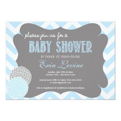 chic baby shower invitation baby shower invitations | baby shower, Baby shower invitations