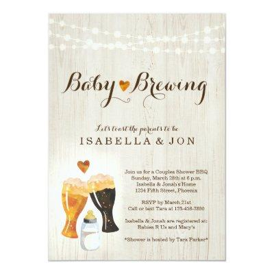 Baby Brewing Couple's
