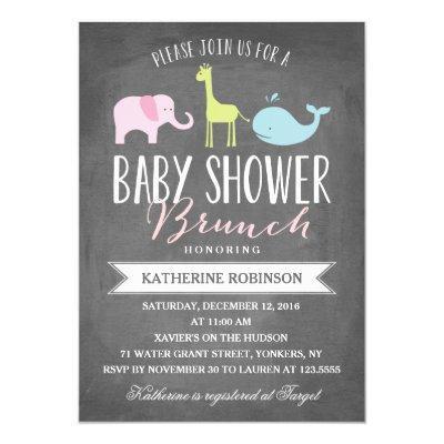 Baby Brunch | Baby Shower Invitation