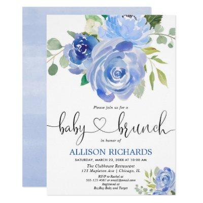 Summer Sip And See Baby Shower Invitations