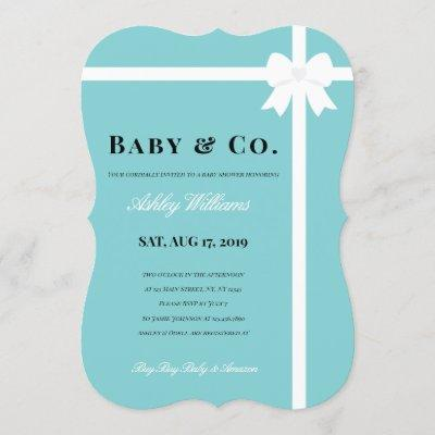 Baby & Co. Baby Shower Invitation