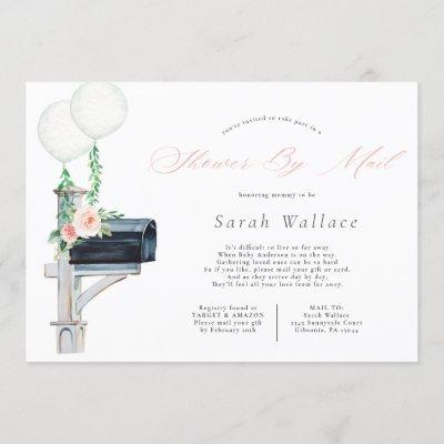 Baby Girl Long Distance Baby Shower By Mail Invitation