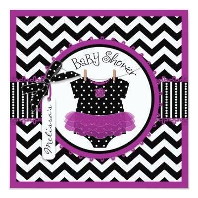 Baby Girl Tutu Chevron Print