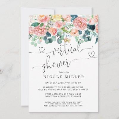 Baby in Bloom | Virtual Baby Shower Invitation