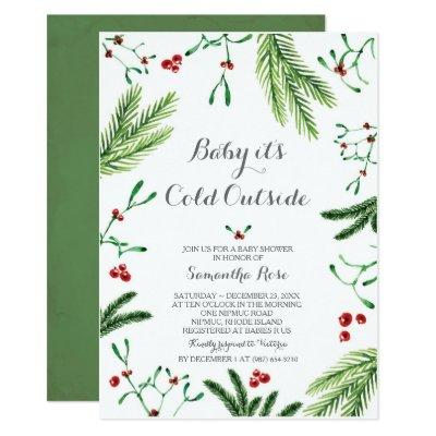 Baby It's Cold Outside Shower Invitation