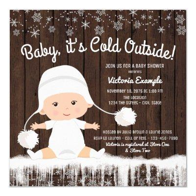 Baby its Cold Outside Snow