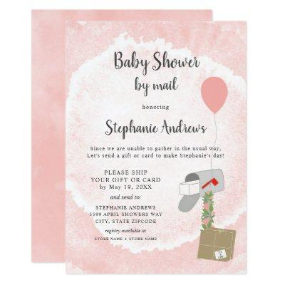 Baby Shower by mail for girl Invitation