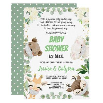 Baby Shower By Mail Gender Neutral Woodland Animal Invitation