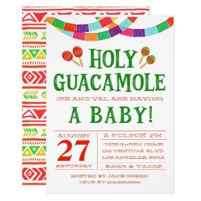 BABY SHOWER FIESTA Invitations