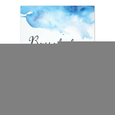 Baby Shower Invitations | Boy oh boy watercolour