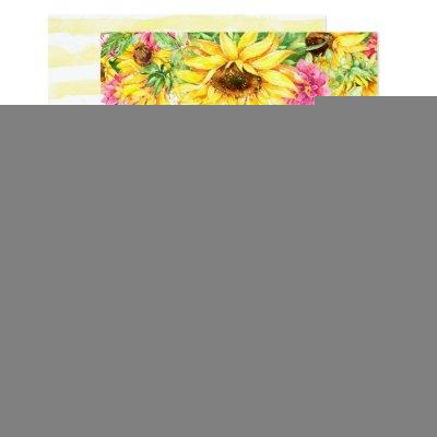 Sunflowers baby shower invitations baby shower invitations with cascading sunflowers filmwisefo