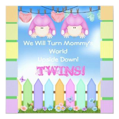 GIRL TWINS!