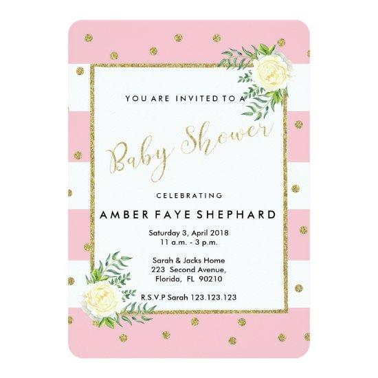 Baby Shower Invite New Welcome Party Card