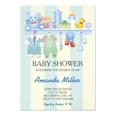 Baby Shower Nursery Invitations