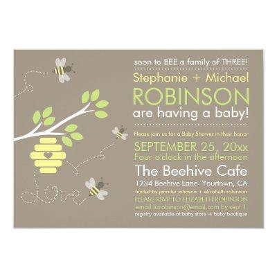 Bee Family Invitation