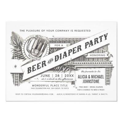 Beer & Diaper Party