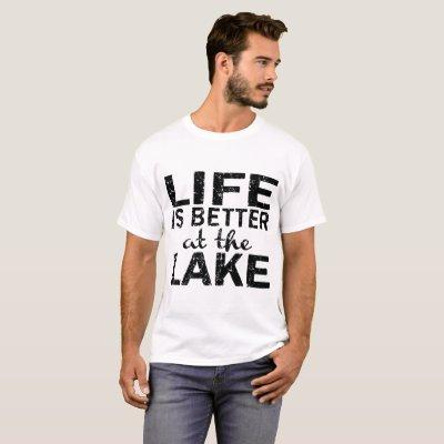 Black Life is Better at the Lake Women_s Camping H T-Shirt