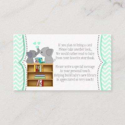 Blue Elephant Book Requests Instead of Card 330 #1