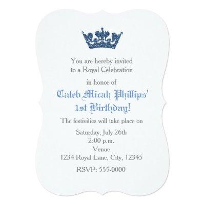 Prince Party Invitations Baby Shower Invitations Baby Shower