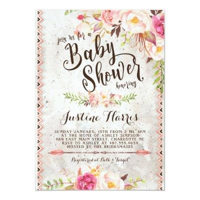 boho baby shower invites baby shower invitations baby shower