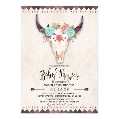 antler baby shower invitations baby shower invitations | baby, Baby shower invitations