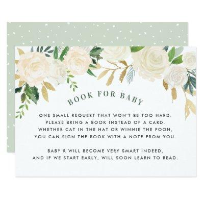 Book For Baby | Baby Shower Request Invitations