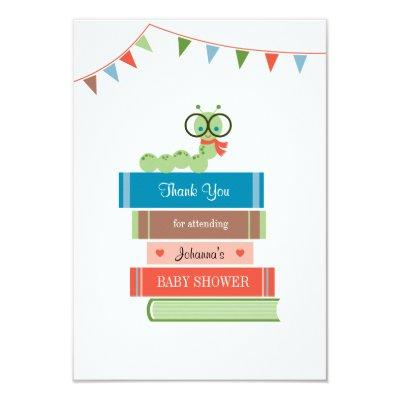 Book for Baby Shower Thank You Invitations