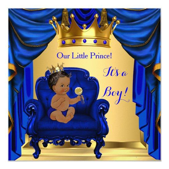 royal blue gold baby shower baby shower invitations | baby shower,