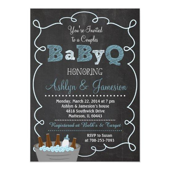 boy chalk rustic antler stag invite | baby shower invitations, Baby shower invitations