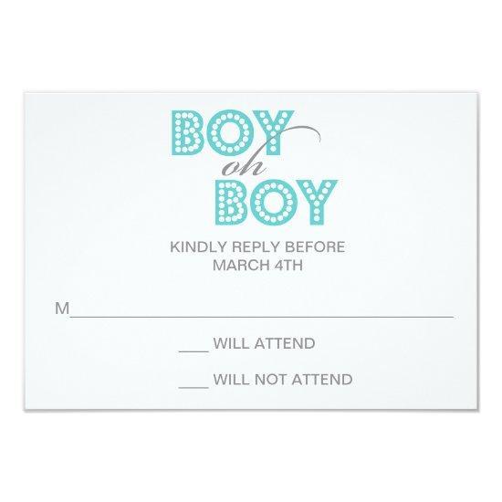 Boy oh boy baby shower rsvp response invitations baby shower boy oh boy baby shower rsvp response invitations filmwisefo