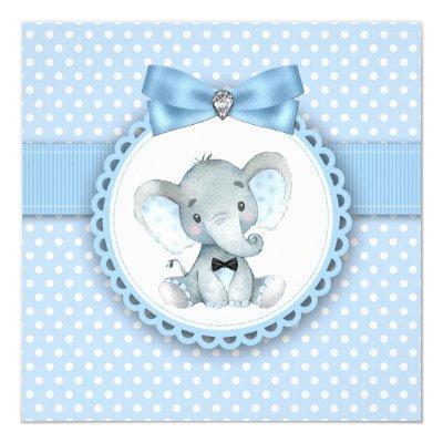 Boys Blue Elephant