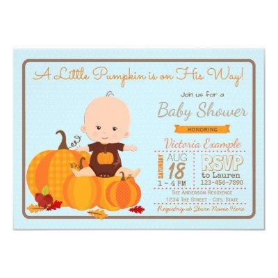 Boys Little Pumpkin