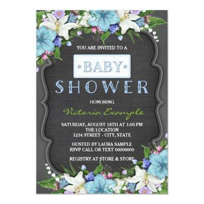 rustic boy baby shower invitations baby shower invitations | baby, Baby shower invitations