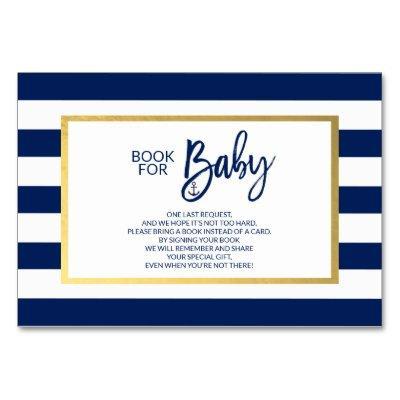 Bring a Book Navy Blue Nautical