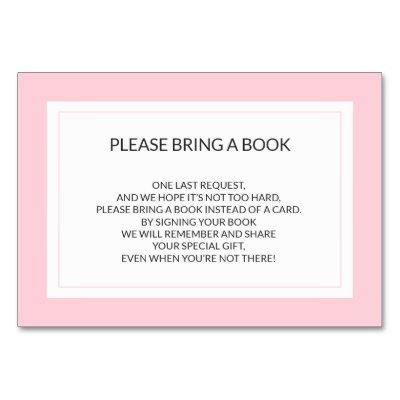 Bring a Book - Pink White Girl