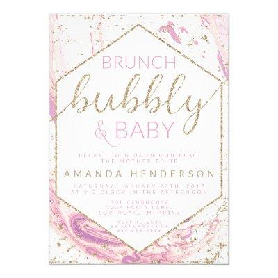 Brunch Bubbly & Baby Marble