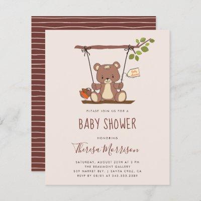 Budget Whimsical Teddy Bear Baby Shower