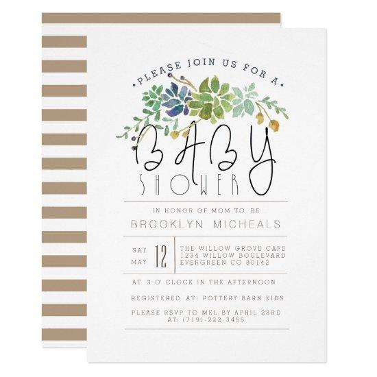 soft garden florals invitations | baby shower invitations, Baby shower invitations