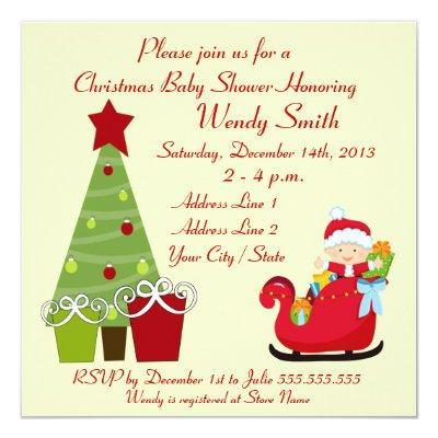 Christmas Invitation Invitations