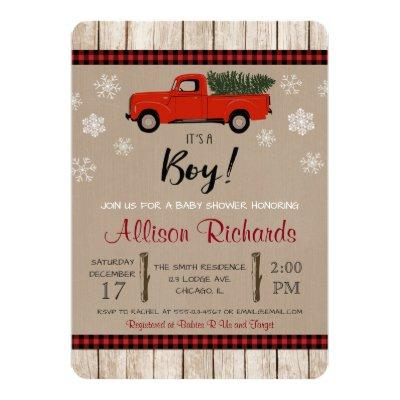 Christmas , holiday shower Invitations