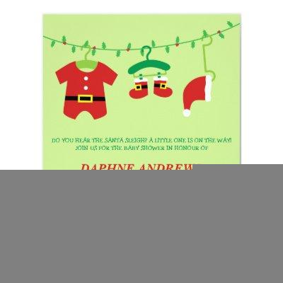 Christmas Santa Party Invitations