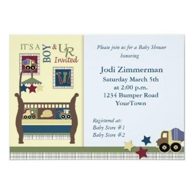 Construction Zone Invitations
