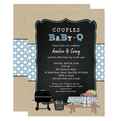 Couples Baby Q, boy BBQ